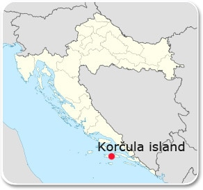 croatia-korcula-map