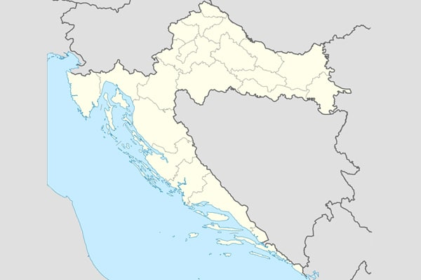 Map of Croatia - Map of Croatian regions, highway, tourist spots ...