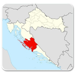 croatia-north-dalmatia-map