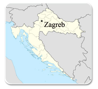 Zagreb Carte Europe.Zagreb In Croatia Hotel In Zagreb Tourist Guide